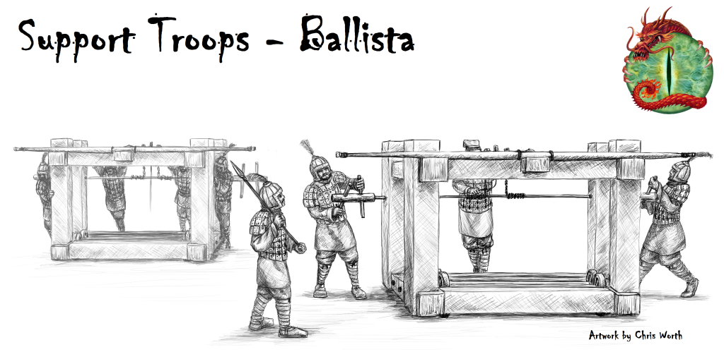 Ballista with logo