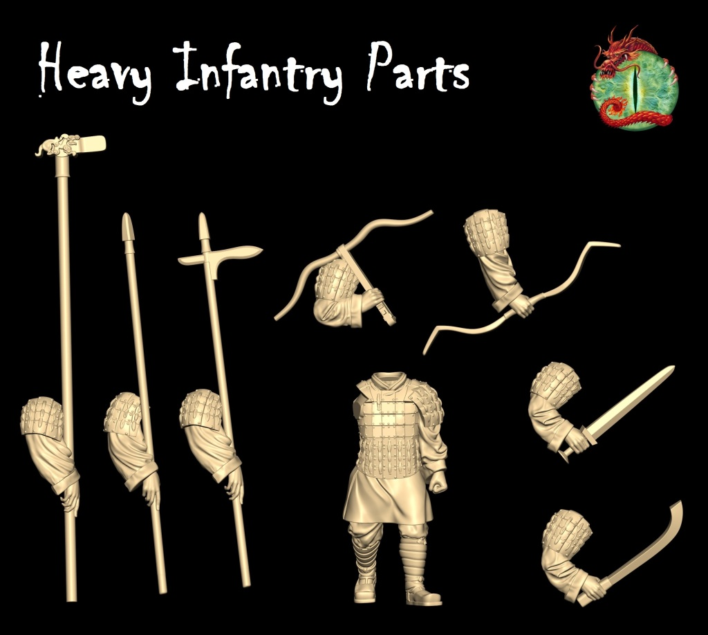 Heavy Infantry Parts
