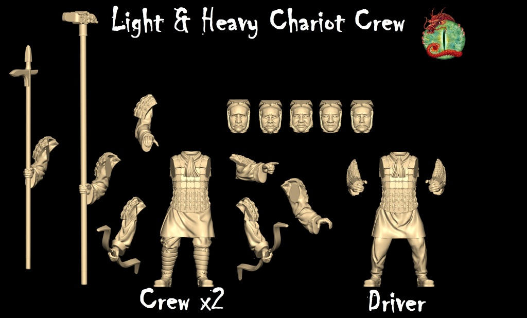 Light & Heavy Chariot crew