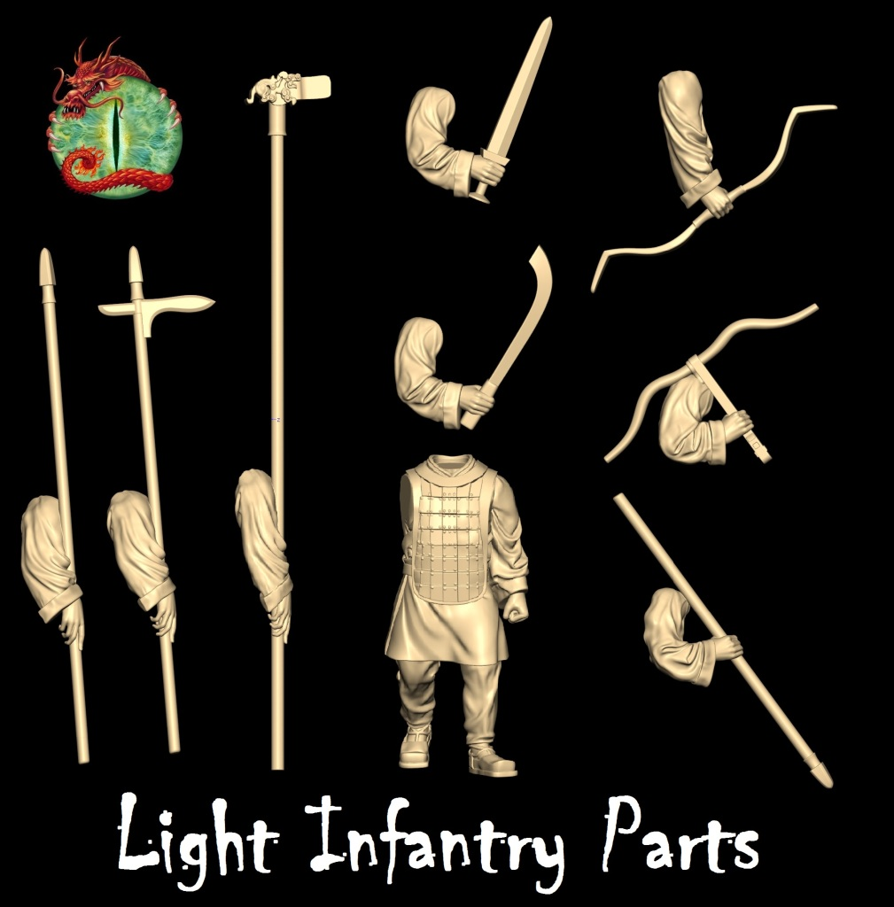 Light Infantry parts