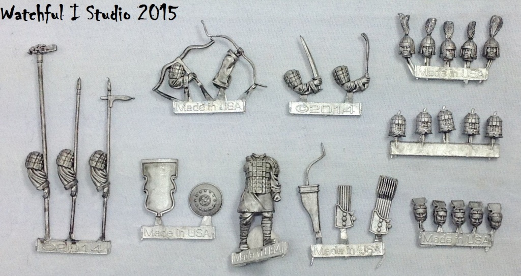 Metal castings heavy infantry
