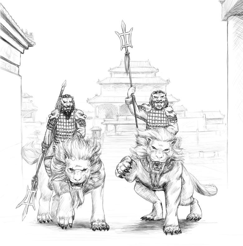 [watchfulistudio] Qin Dinasty Fucavalry