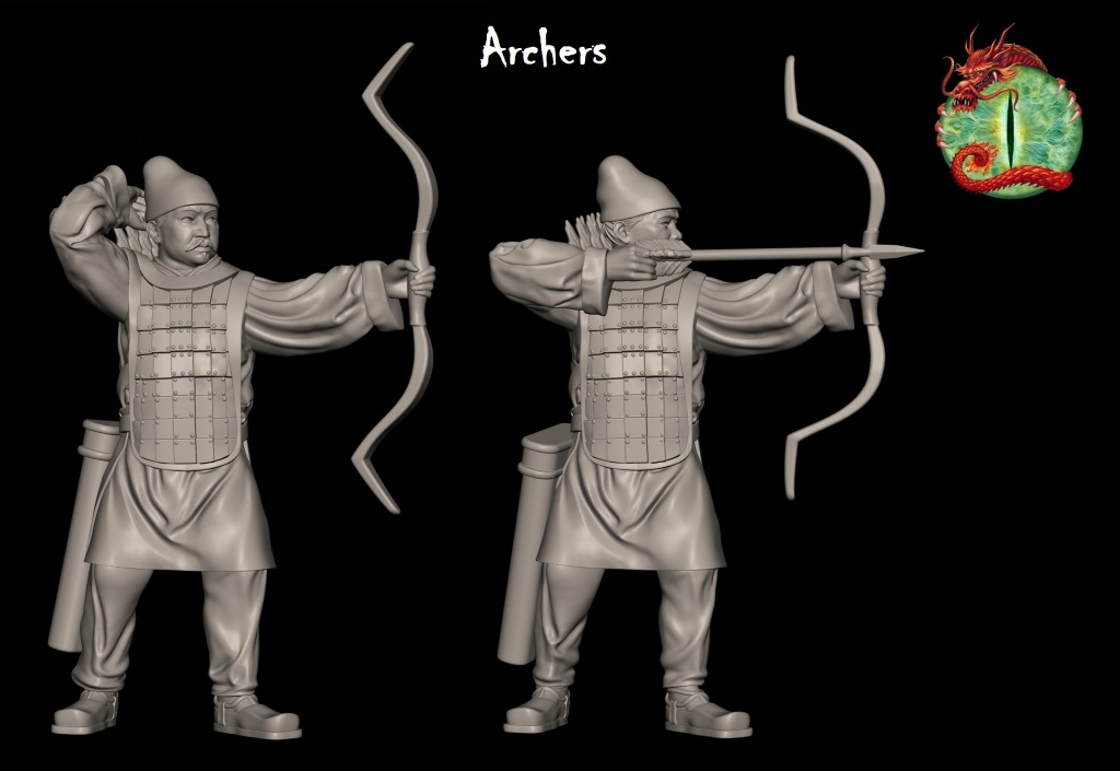 qin archers with logo