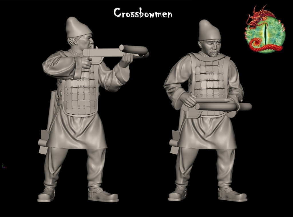 qin crossbowman with logo