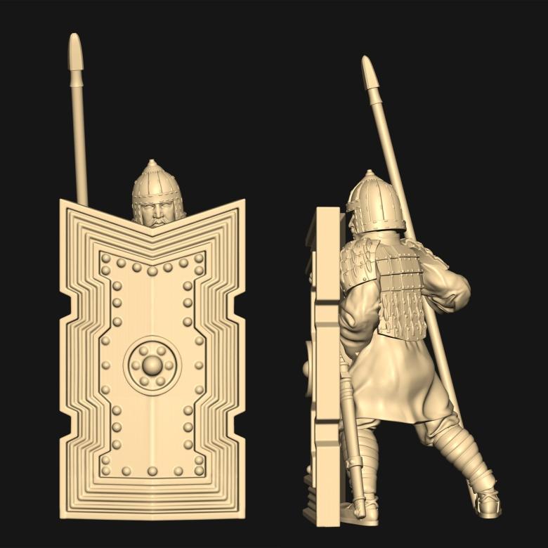 [watchfulistudio] Qin Dinasty Qin-large-shield-guy-3