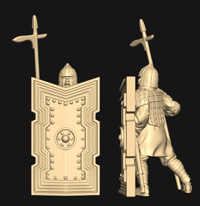 [watchfulistudio] Qin Dinasty Qin-large-shield-guy-4