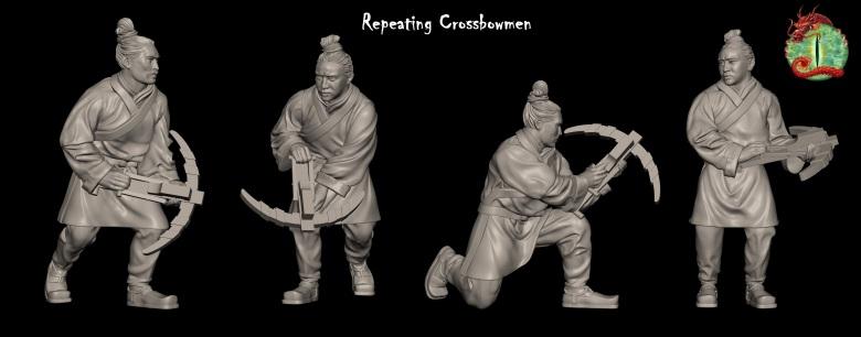 [watchfulistudio] Qin Dinasty Repeating-crossbow-with-logo